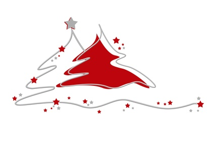 Weihnachtsbaum_rot